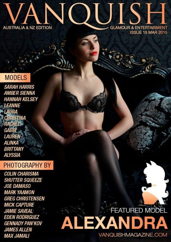 Vanquish Magazine ANZ - March 2015 – Alexandra 2