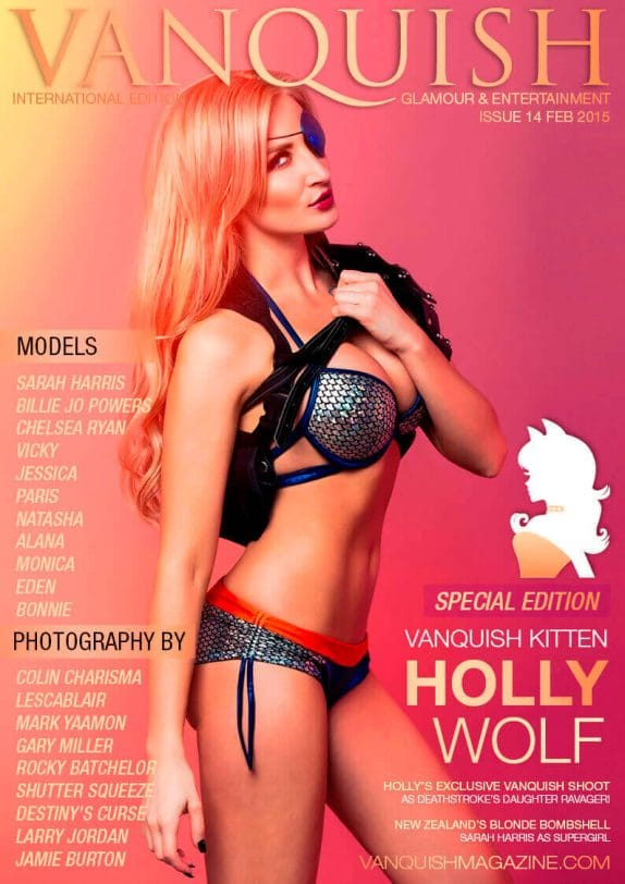 Vanquish Magazine - February 2015 – Holly Wolf 5