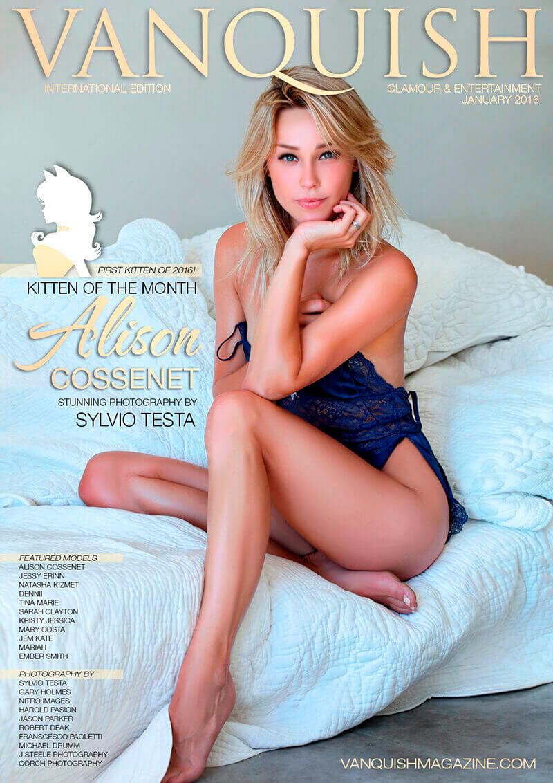 January 2016 Alison Cossenet 1