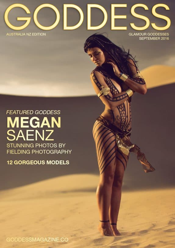 Goddess Magazine – September 2016 – Megan Saenz