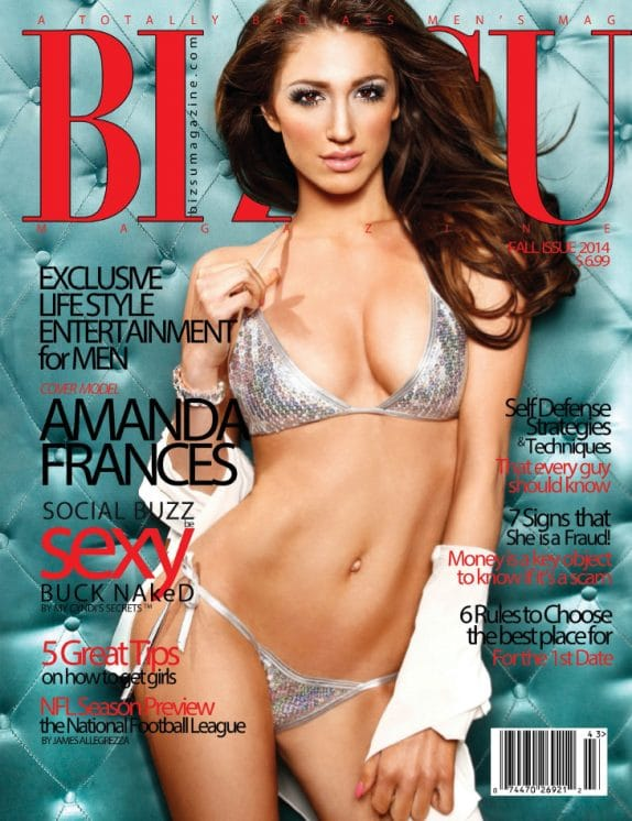 Bizsu Magazine – Fall 2014 – Amanda Frances 1
