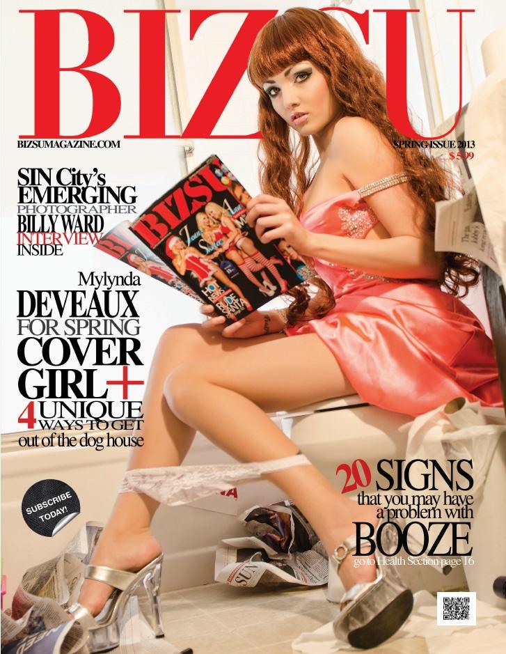 Bizsu Magazine – Spring 2013 – Mylynda Deveaux