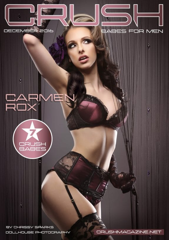 Crush Magazine – December 2016 – Part 1 – Carmen Rox