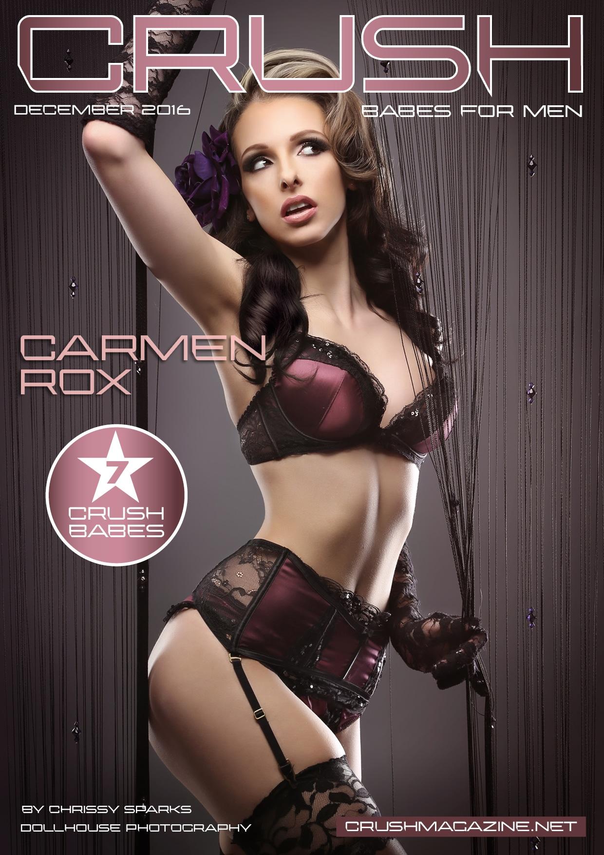 Crush Magazine - December 2016 - Part 1 - Carmen Rox 1