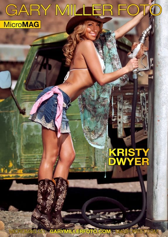 Gary Miller Foto MicroMAG – Kristy Dwyer – Issue 1