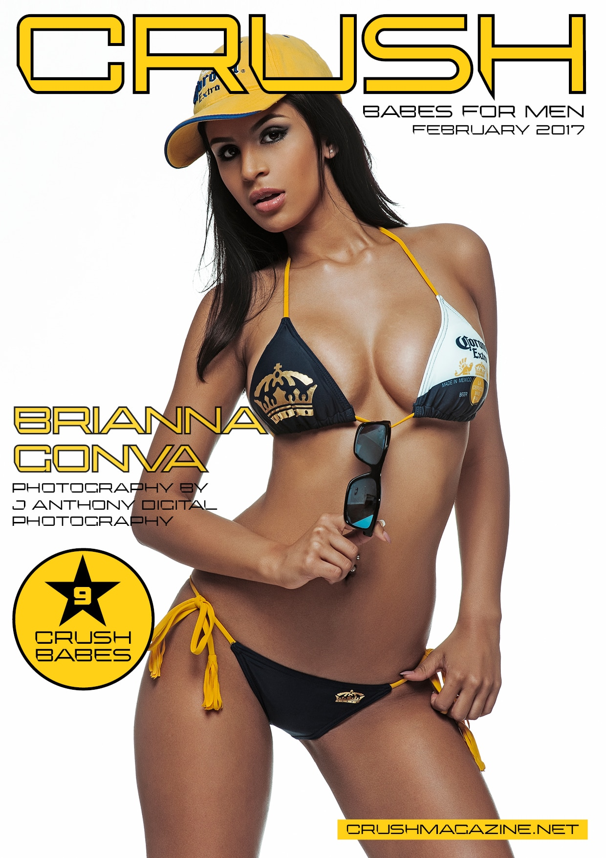 Crush Magazine - February 2017 - Brianna Gonva 1