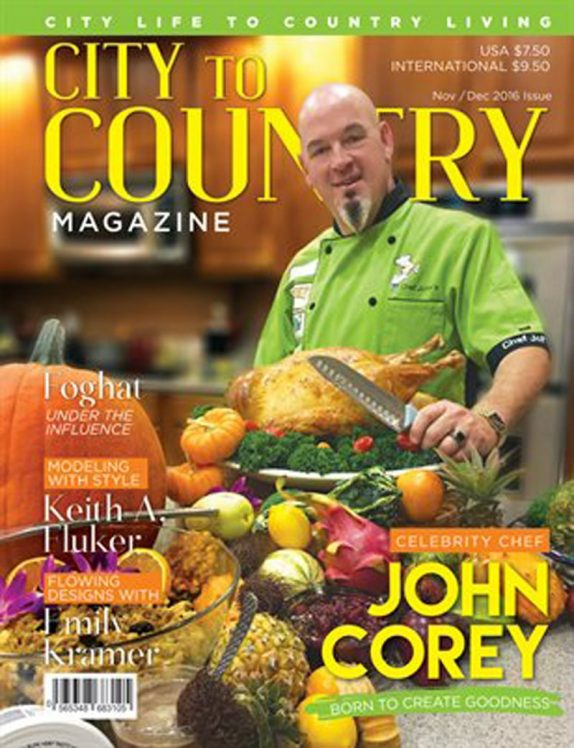 City To Country Magazine – Nov/Dec 2016