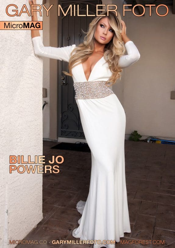Gary Miller Foto MicroMag - Billie Jo Powers 1