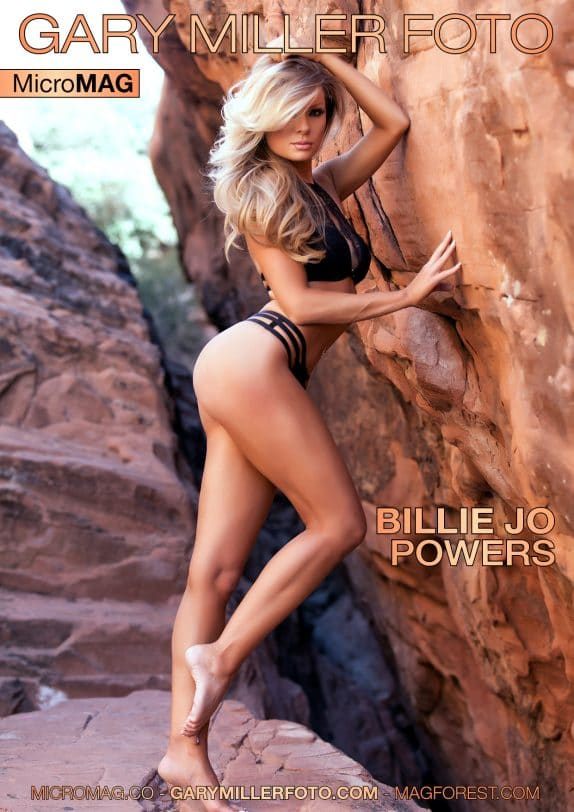 Gary Miller Foto MicroMag – Billie Jo Powers – Issue 3