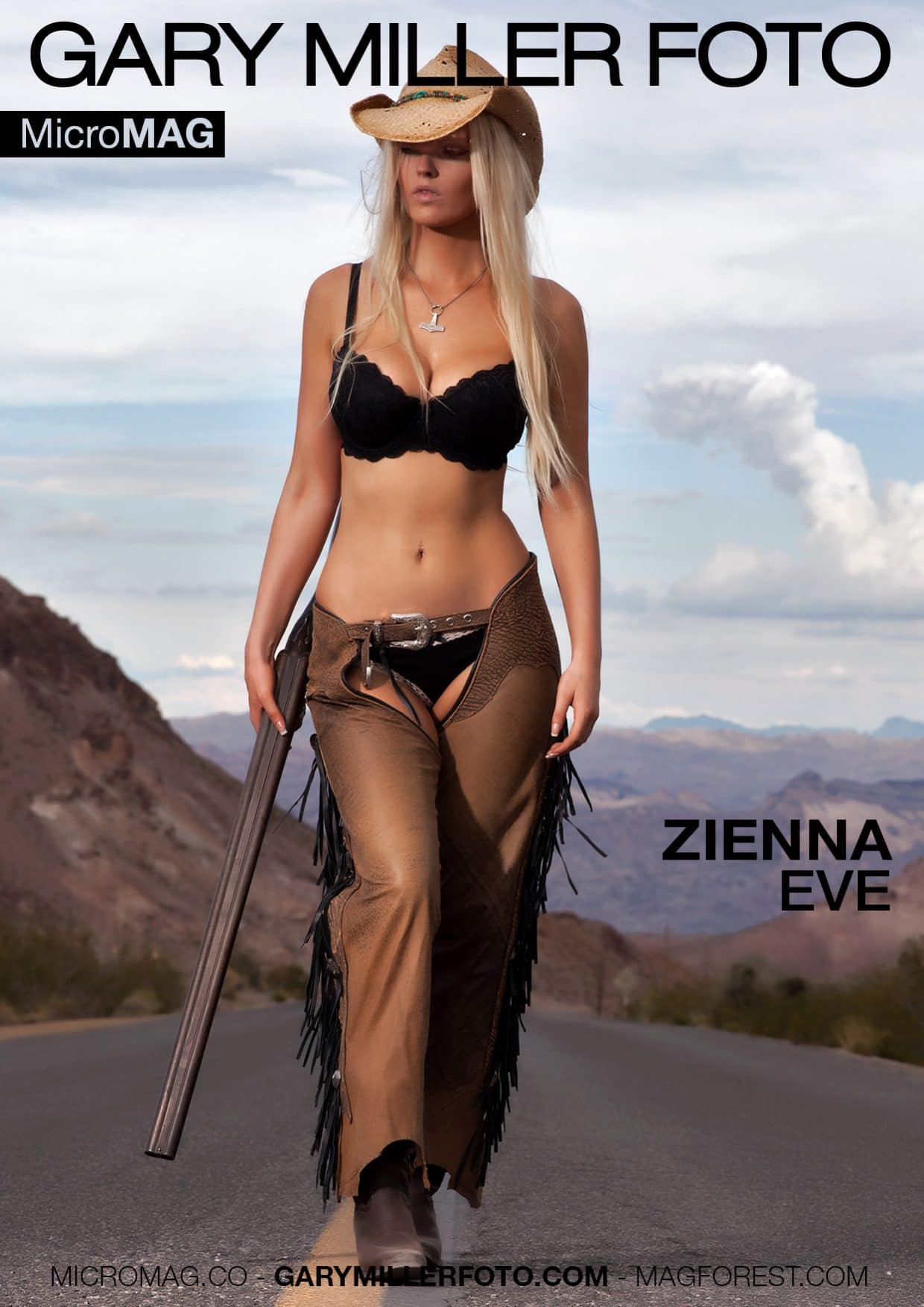 Gary Miller Foto Micromag – Zienna Eve – Issue 2