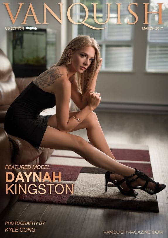 Vanquish Magazine - March 2017 - Daynah Kingston 8