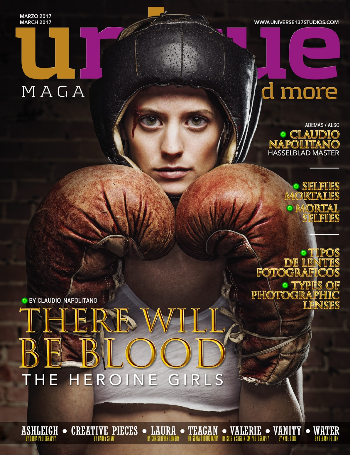Unique Magazine – March 2017