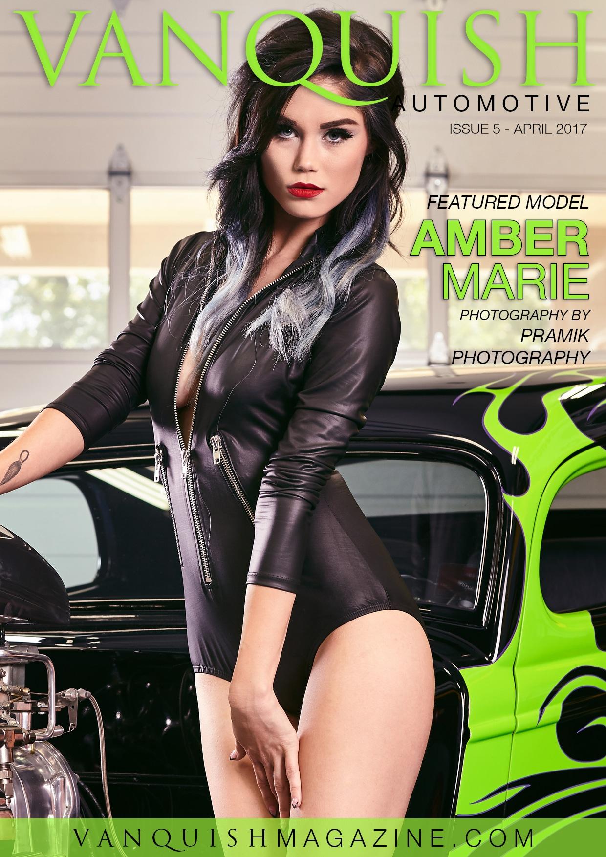 Vanquish Magazine - April 2017 - Amber Bernstein 1