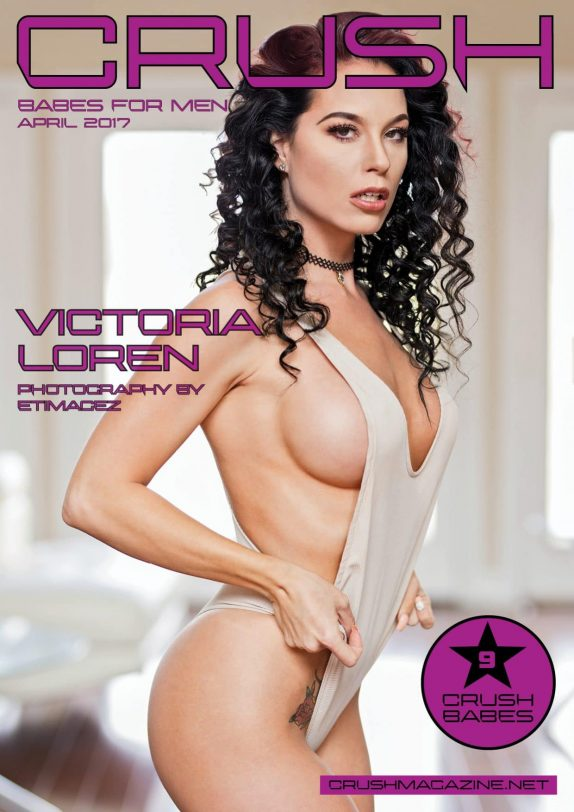 Crush Magazine – April 2017 – Victoria Loren