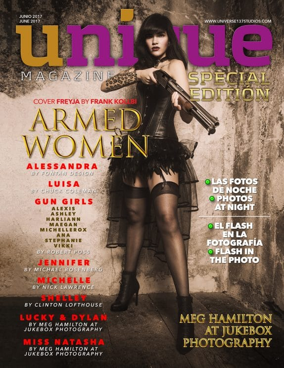 Unique Magazine - Special Edition - Armed Women 7