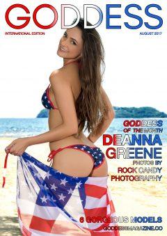 Goddess Magazine – August 2017 – Deanna Greene