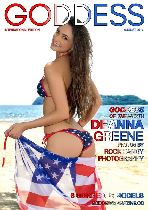Goddess Magazine – August 2017 – Deanna Greene 4