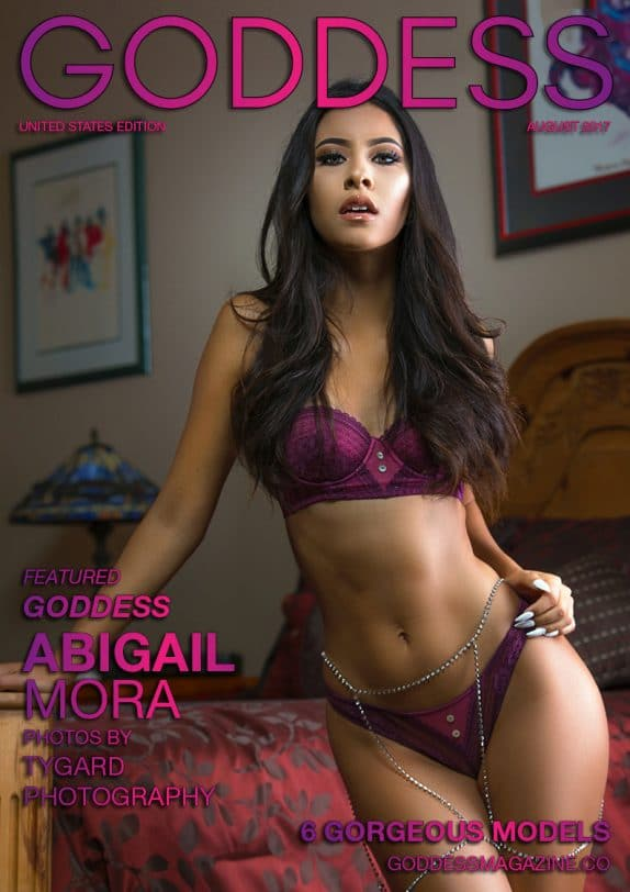 Goddess Magazine – August 2017 – Abigail Mora 6