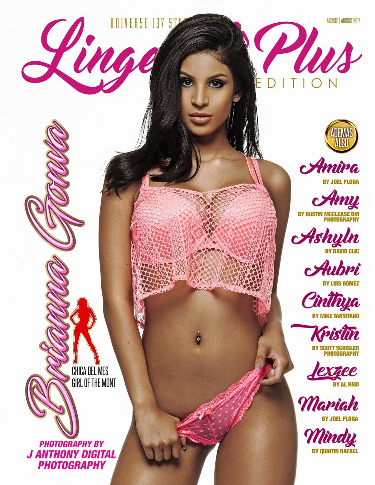 Lingerie Plus Magazine - August 2017 1