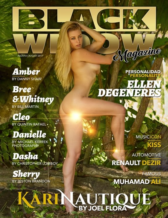 Black Widow Magazine - August 2017 7