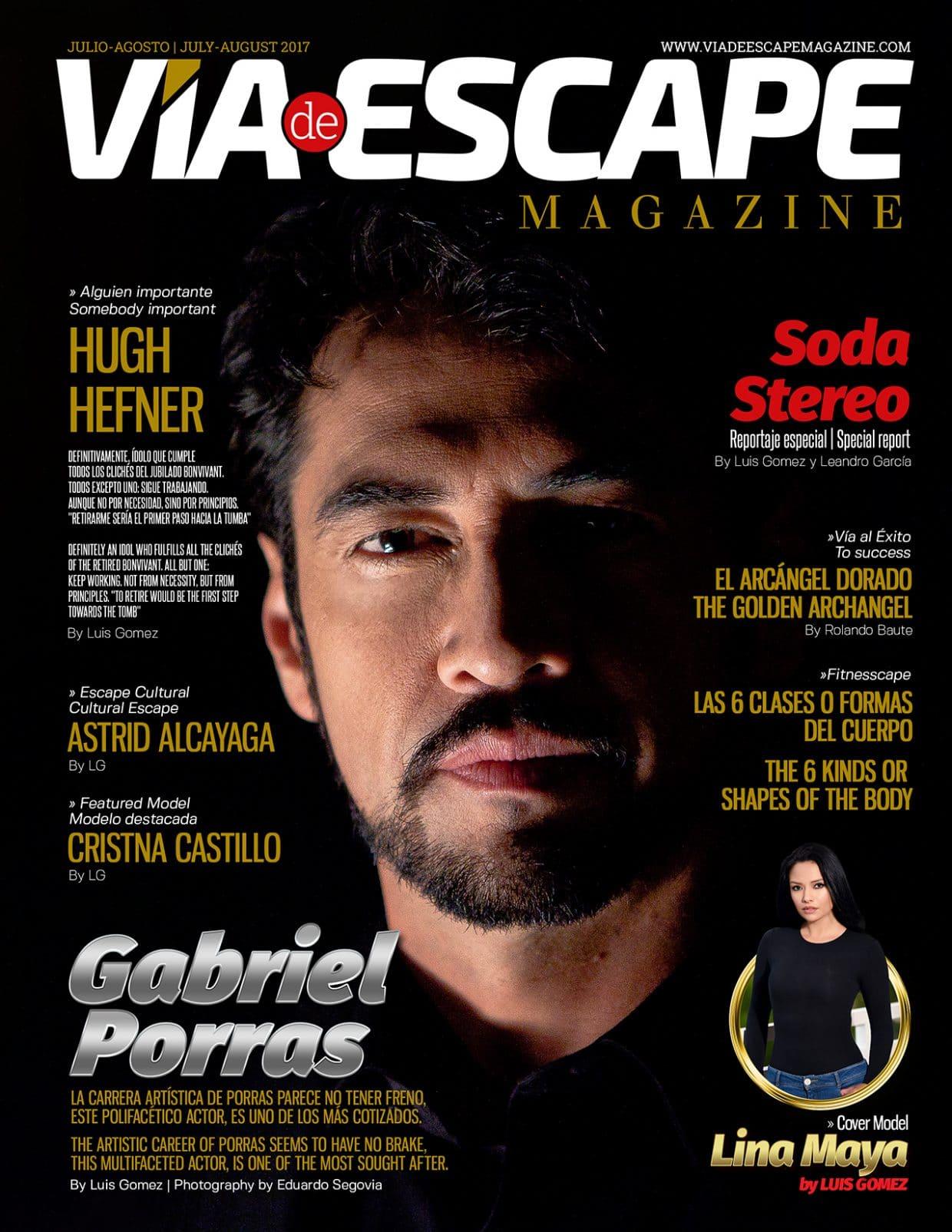Via De Escape Magazine – July – August 2017
