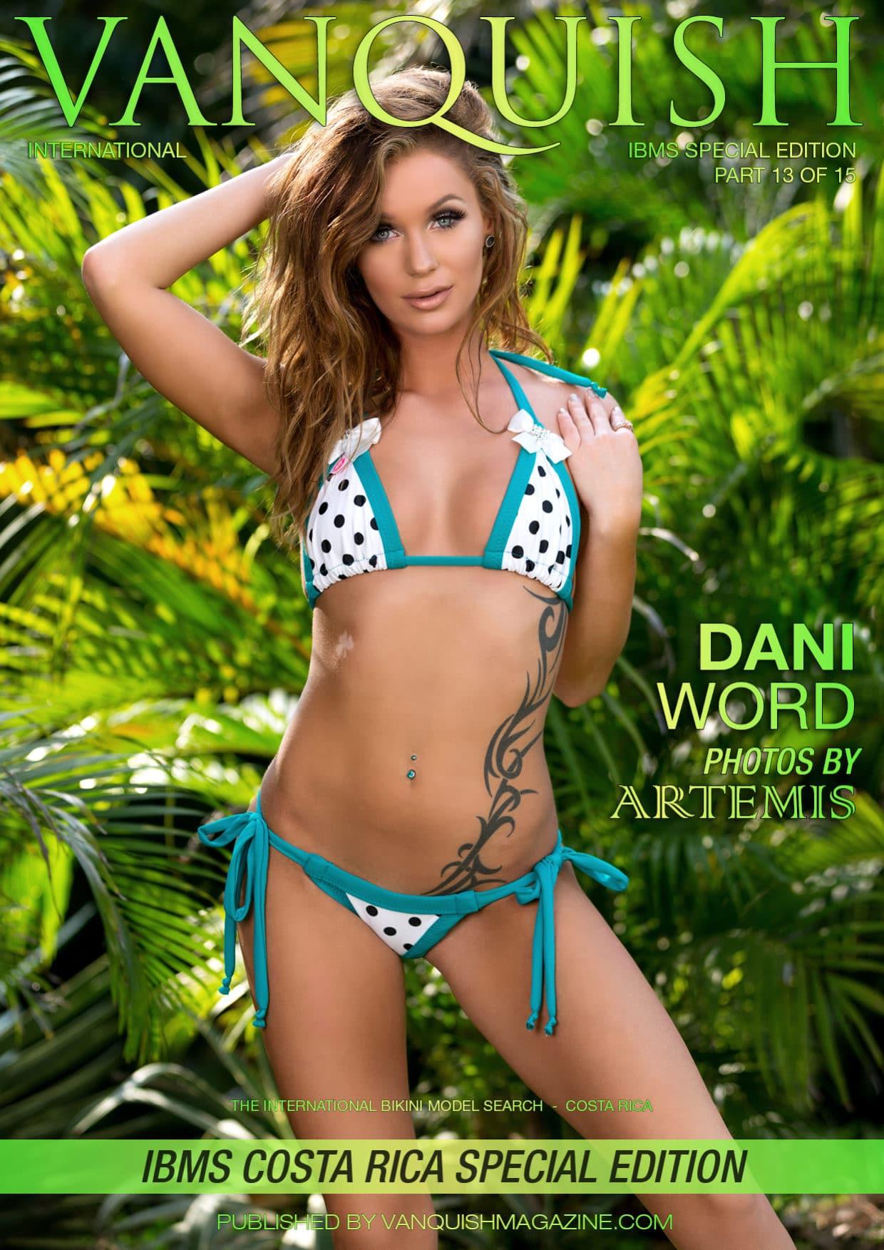 Vanquish Magazine - IBMS Costa Rica - Part 13 - Dani Word 1