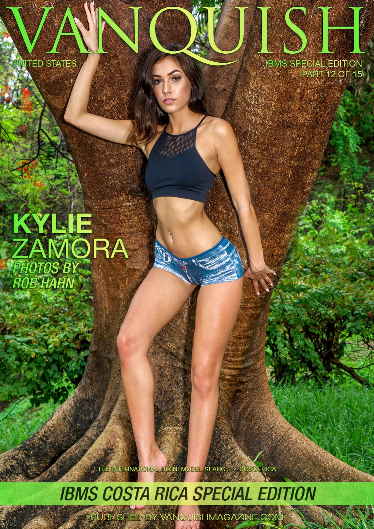 Vanquish Magazine – IBMS Costa Rica – Part 12 – Kylie Zamora 1