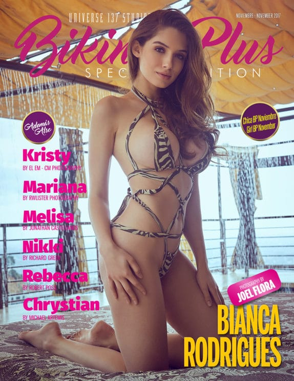 Bikini Plus Magazine - November 2017 1