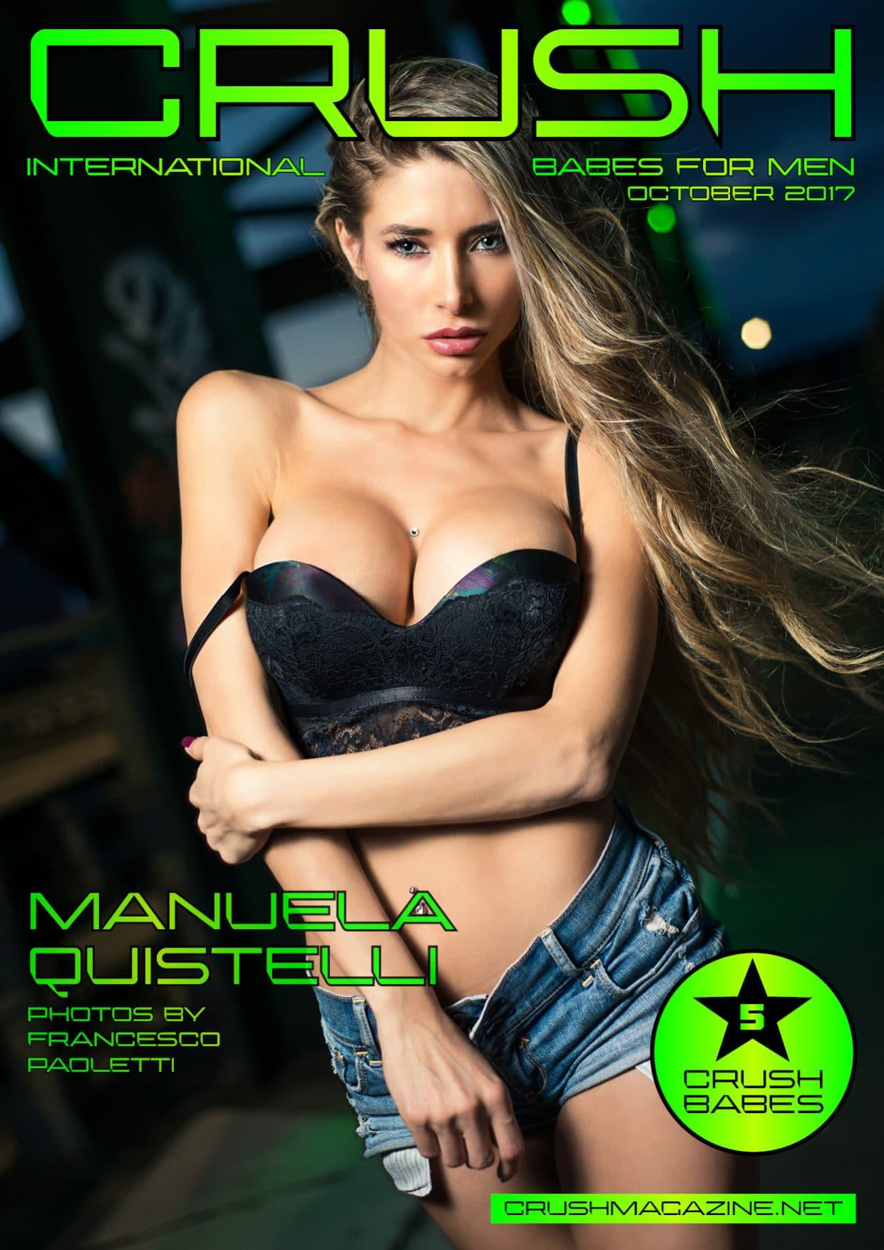 Crush Magazine - October 2017 - Manuela Quistelli 1