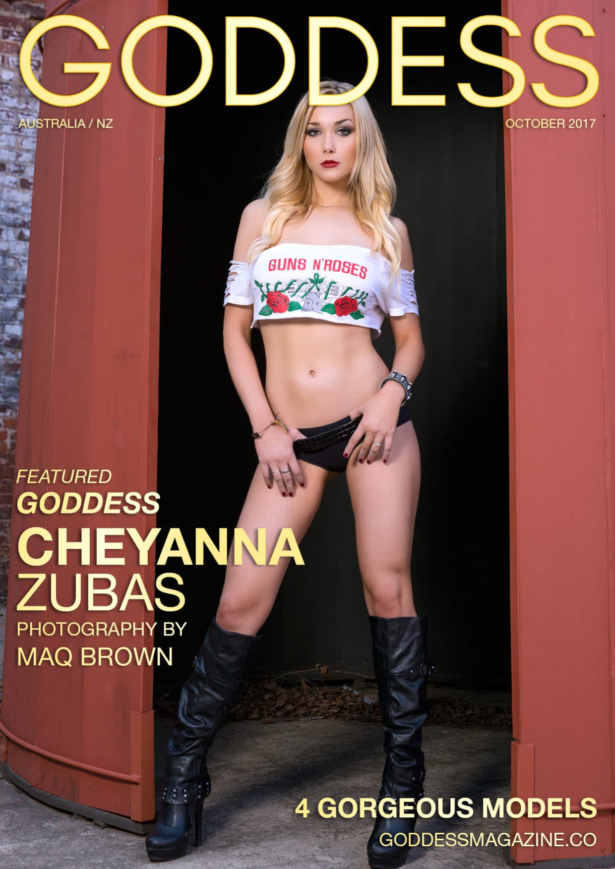 Goddess Magazine – October 2017 – Cheyanna Zubas