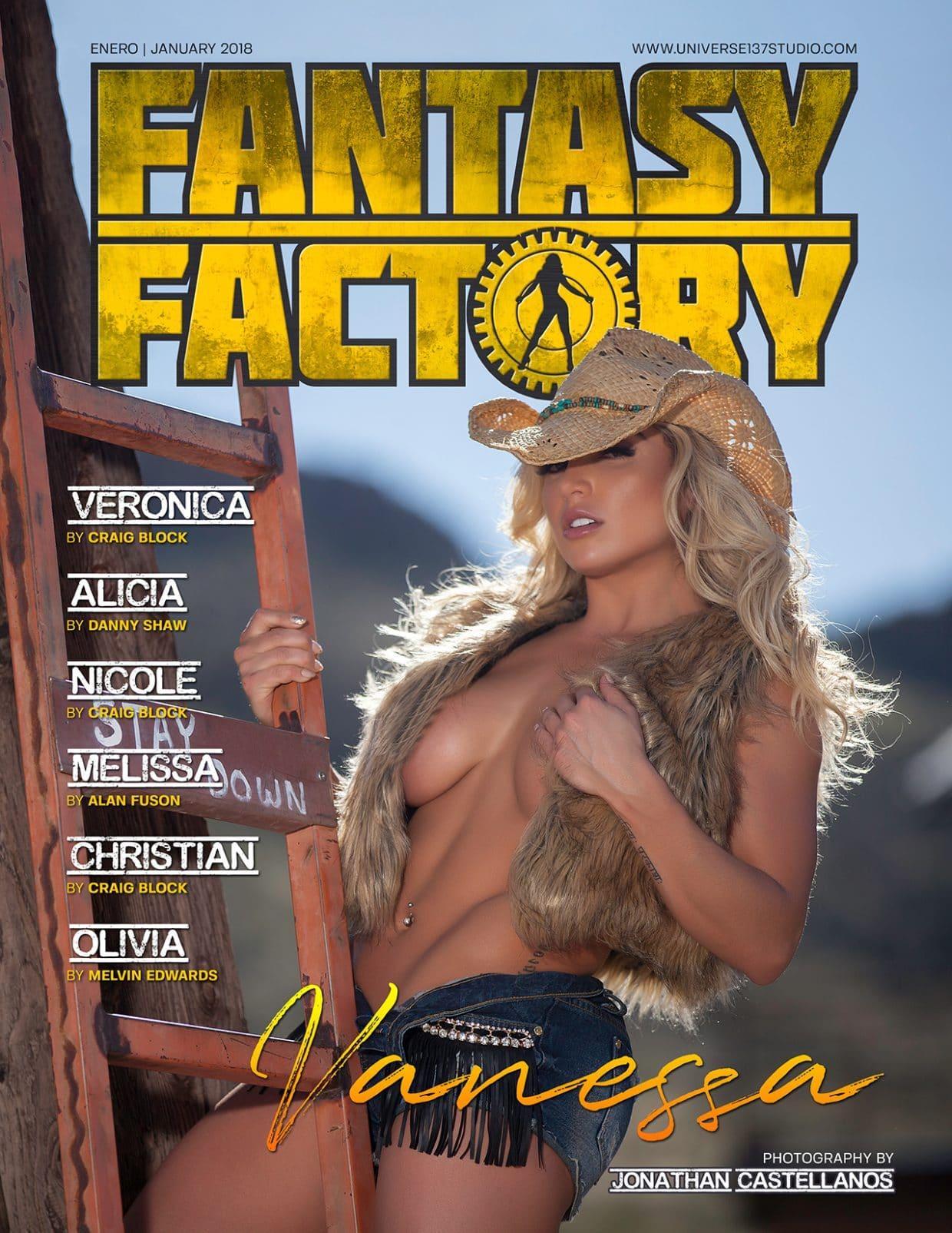 Fantasy Factory Magazine - January 2018 1
