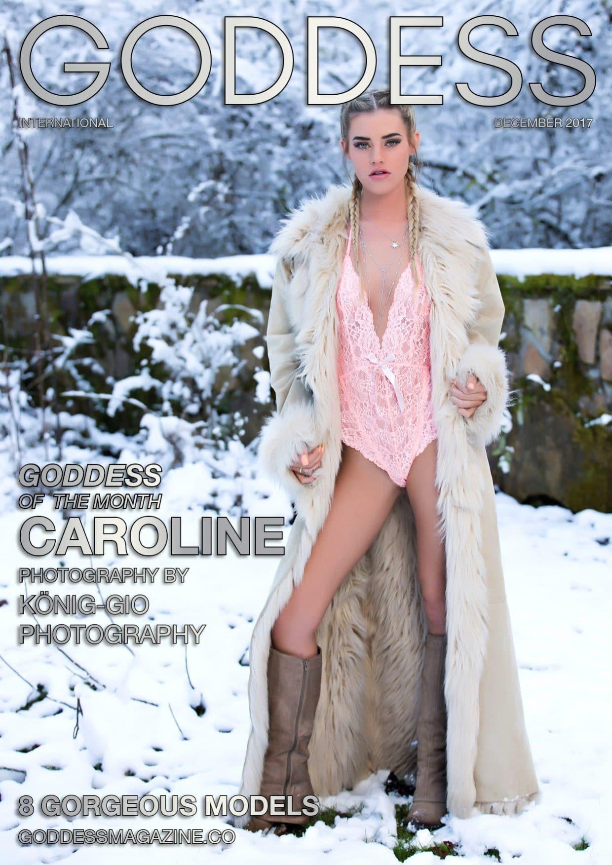 Goddess Magazine - December 2017 - Caroline 1