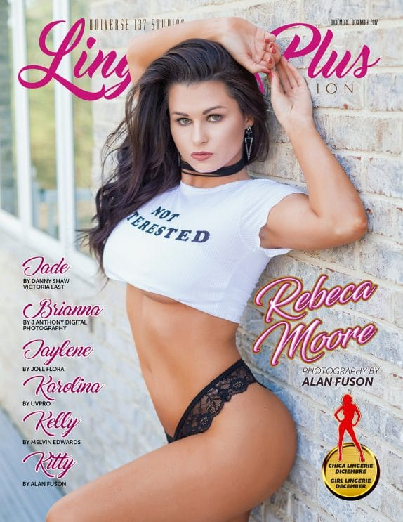 Lingerie Plus Magazine - December 2017 3