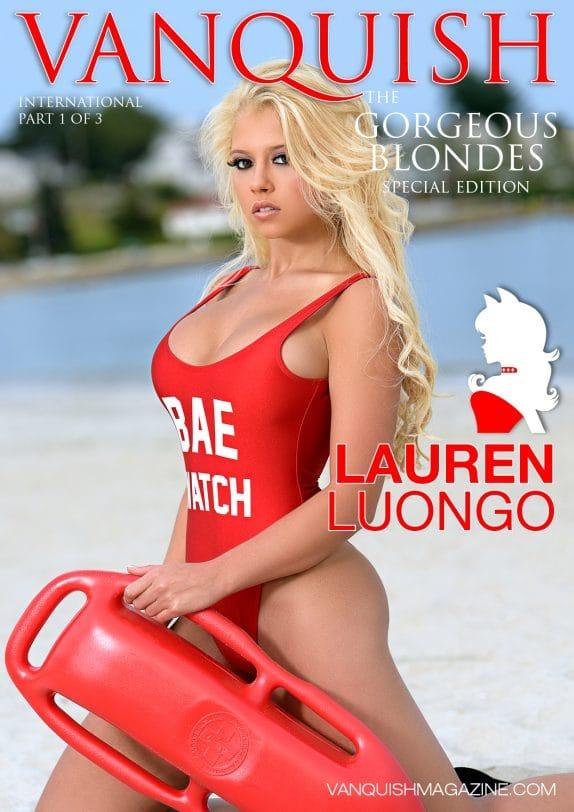 Vanquish Magazine - Gorgeous Blondes - Lauren Luongo 3