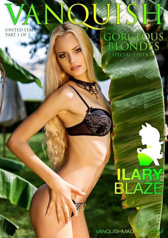 Vanquish Magazine - Gorgeous Blondes - Ilary Blaze 1