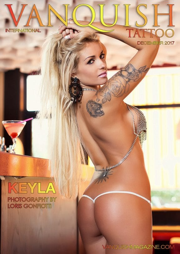 Vanquish Tattoo Magazine - December 2017 - Keyla 2