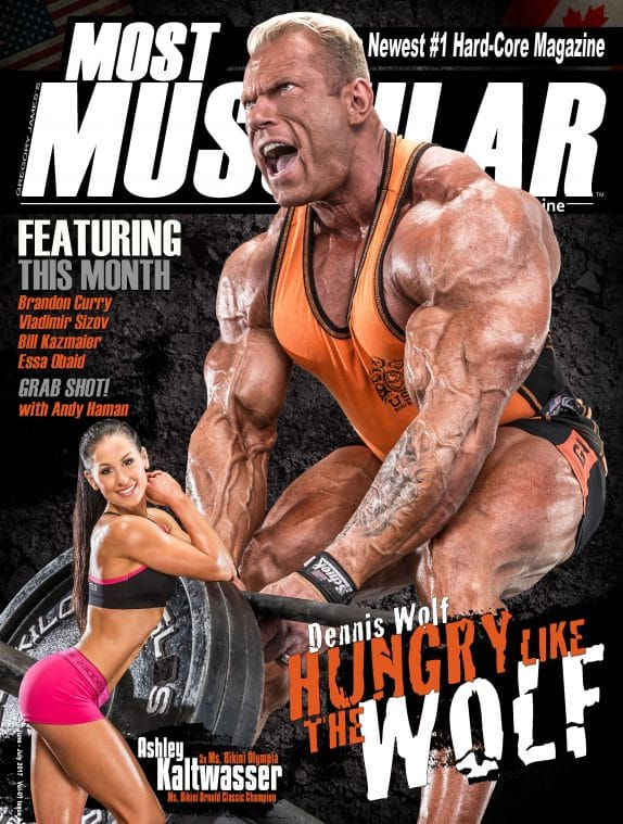 Most Muscular Magazine - June - July 2017 1