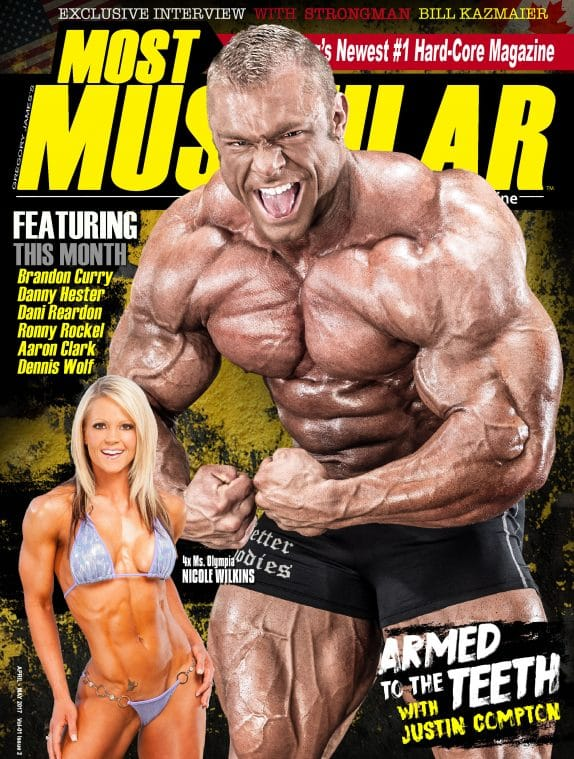 Most Muscular Magazine - April - May 2017 2