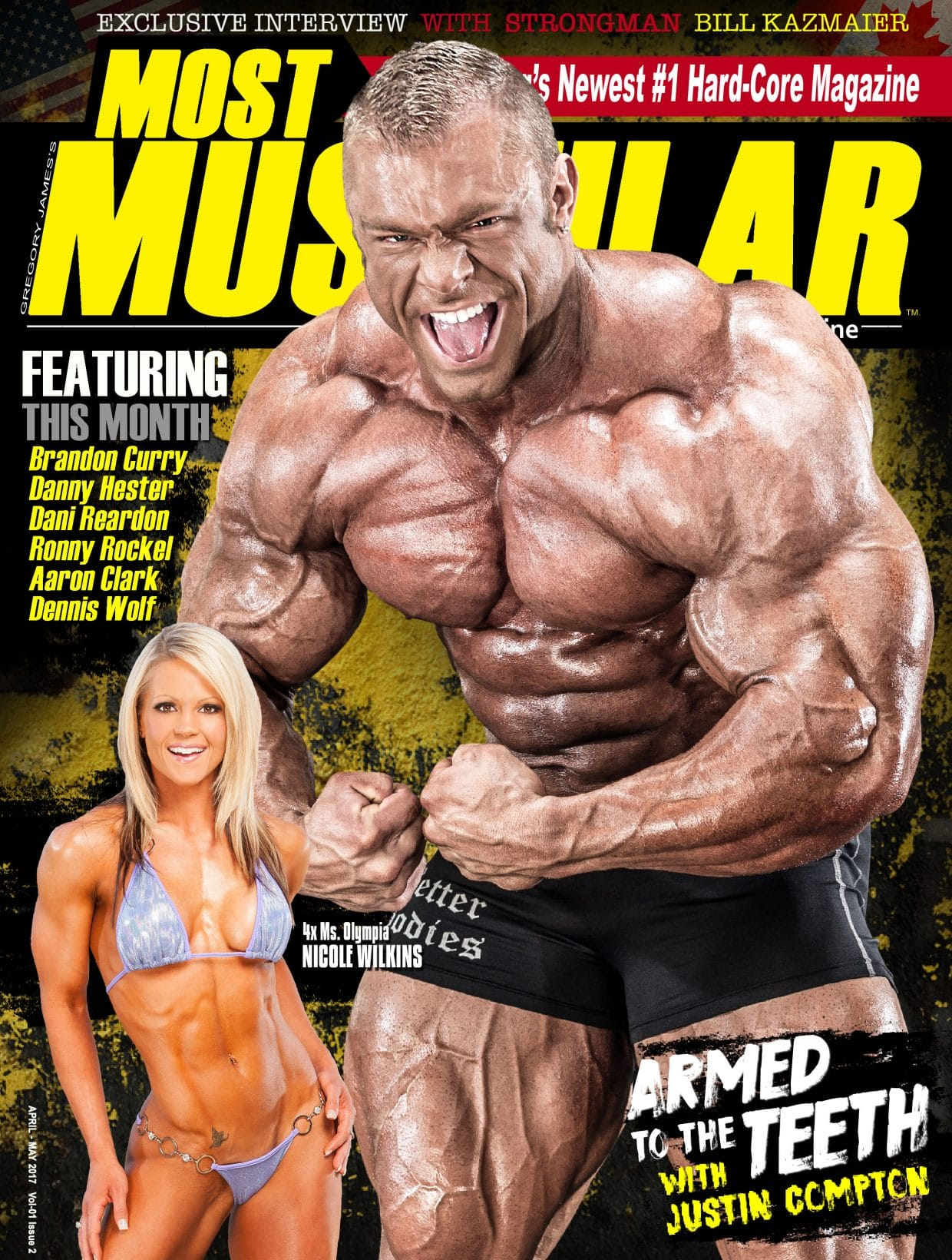 Most Muscular Magazine - April - May 2017 1