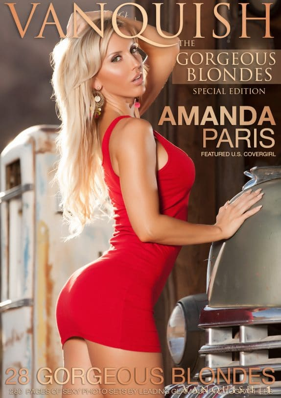 Vanquish Magazine - Gorgeous Blondes – Amanda Paris 7