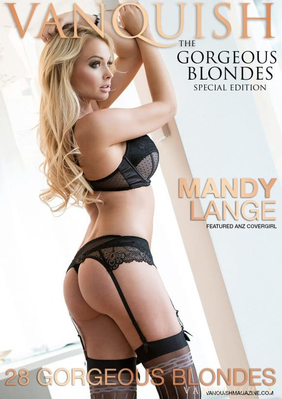 Vanquish Magazine - Gorgeous Blondes – Mandy Lange 4