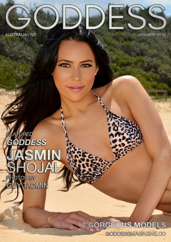 Goddess Magazine – January 2018 – Jasmin Shojai