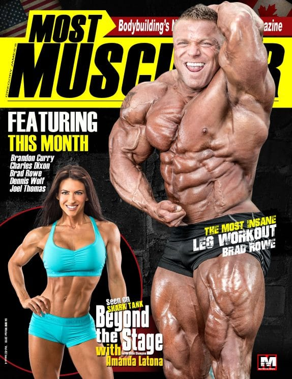 Most Muscular Magazine - March - April 2018 1