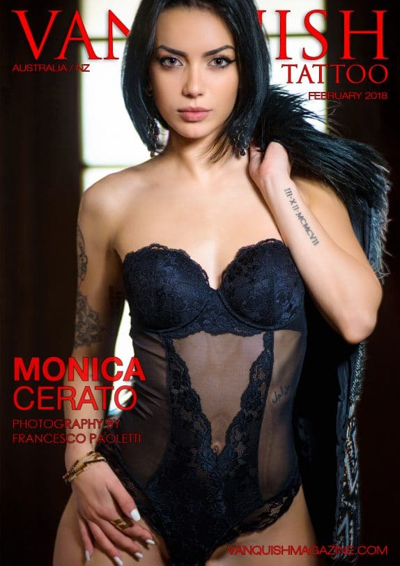 Vanquish Tattoo Magazine - February 2018 - Monica Cerato 5