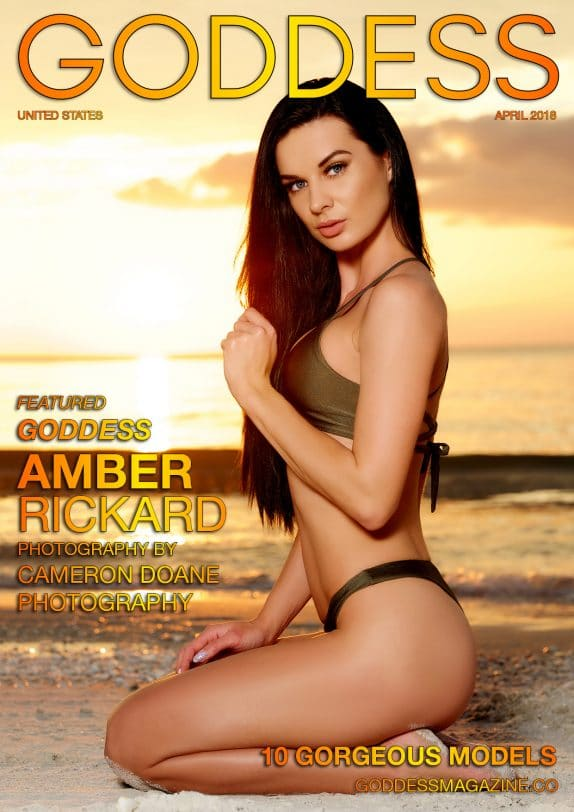 Goddess Magazine – April 2018 – Amber Rickard