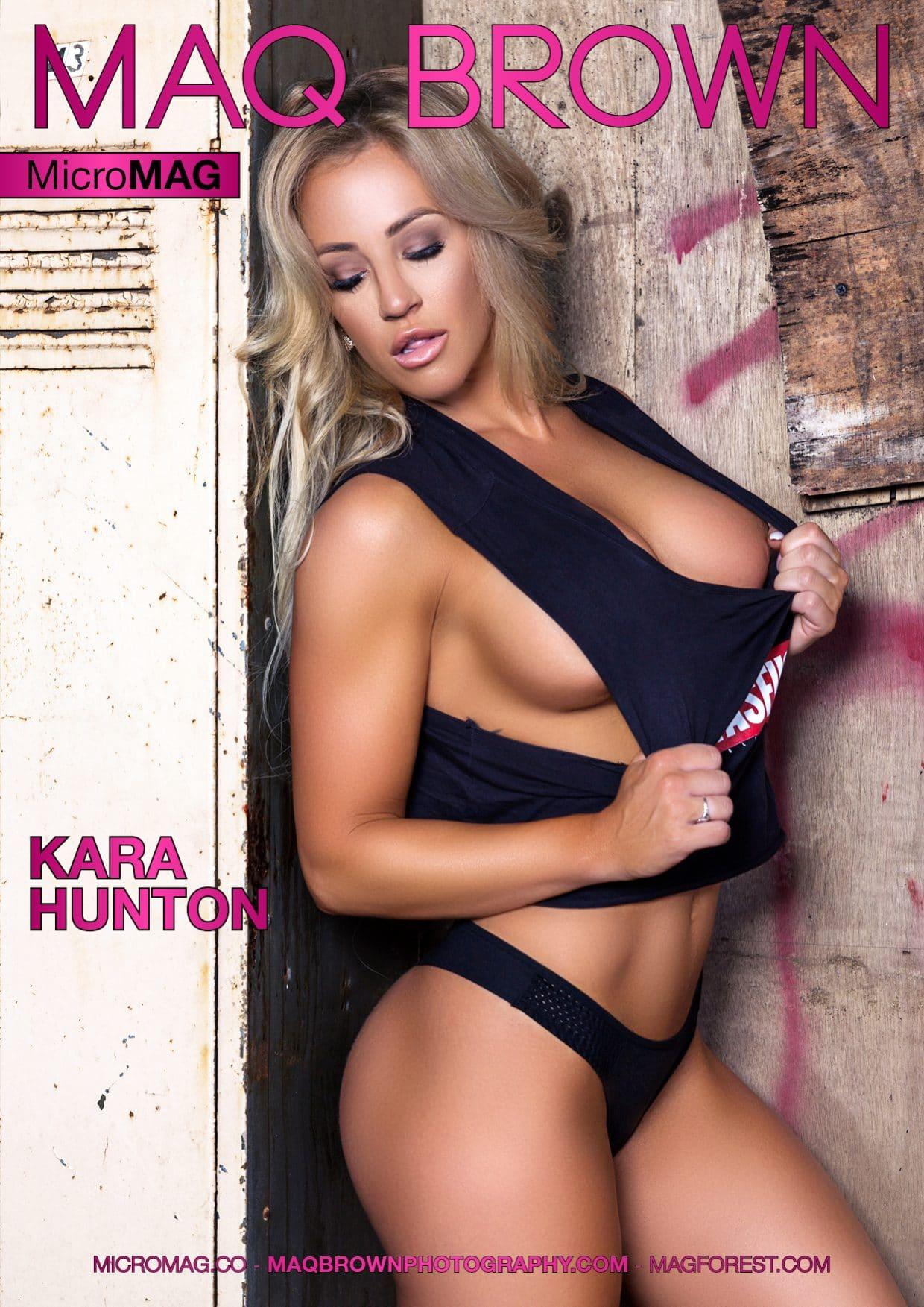 Maq Brown Micromag – Kara Hunton