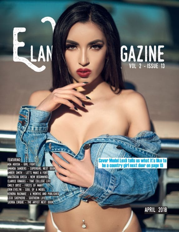 Elan Vital Magazine - April 2018 - Lexii Shepherd 1