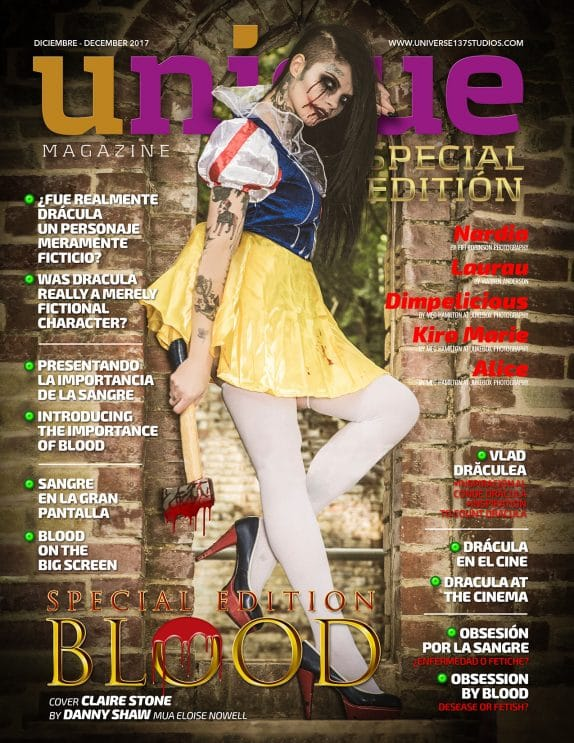 Unique Magazine - Blood Special Edition - December 2017 9