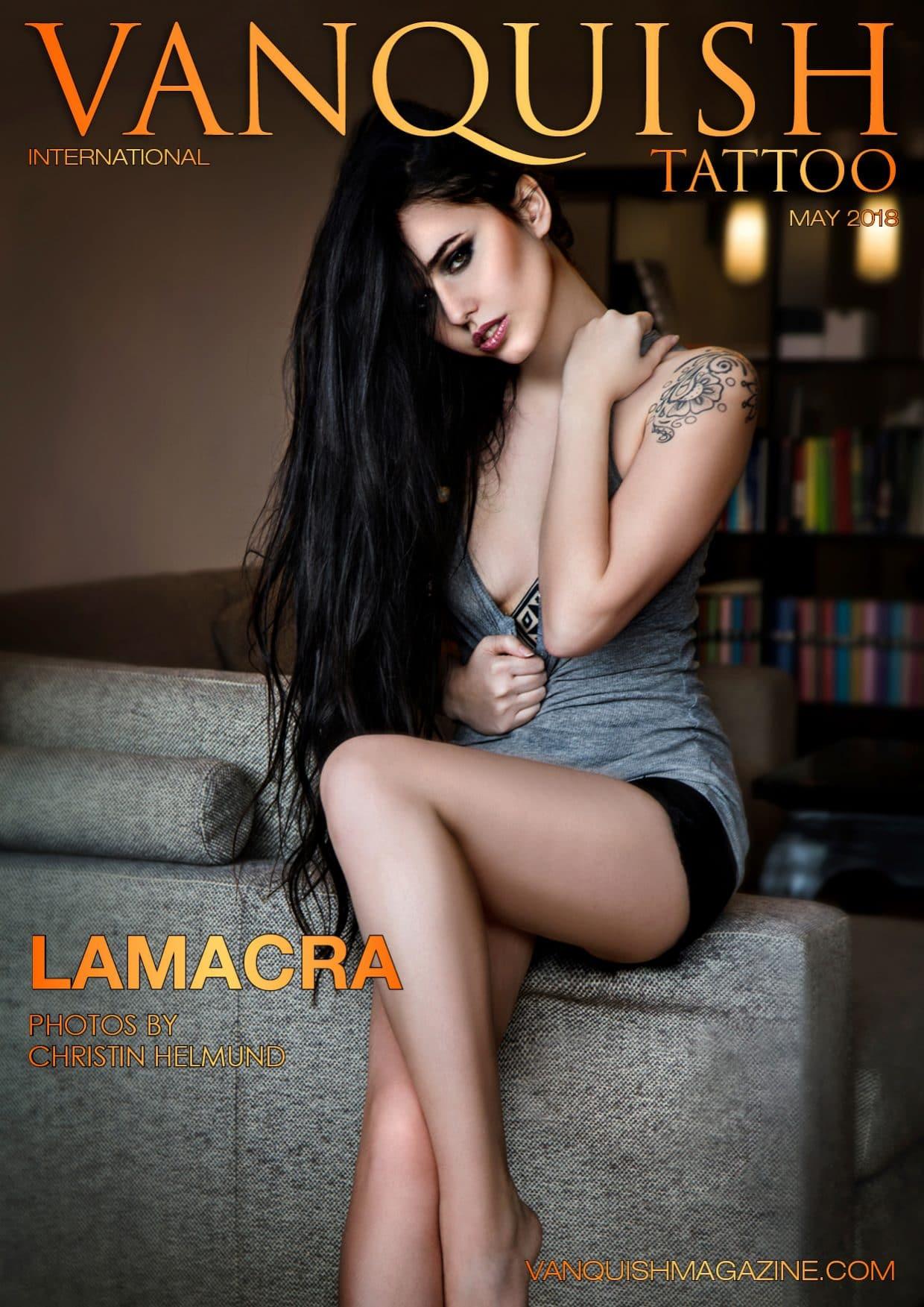 Vanquish Tattoo Magazine - May 2018 - Lamacra 1