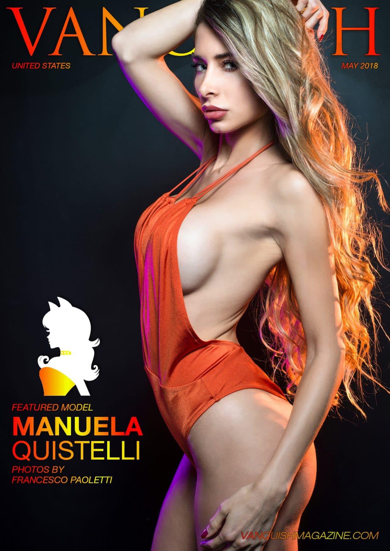 Vanquish Magazine - May 2018 - Manuela Quistelli 1